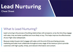 Lead Nurturing Cheat Sheet Thumbnail2